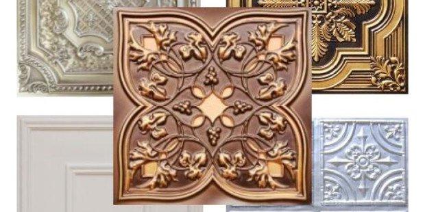 Residential Ceilings | Decorative Ceiling Tiles | Tin Tiles ...