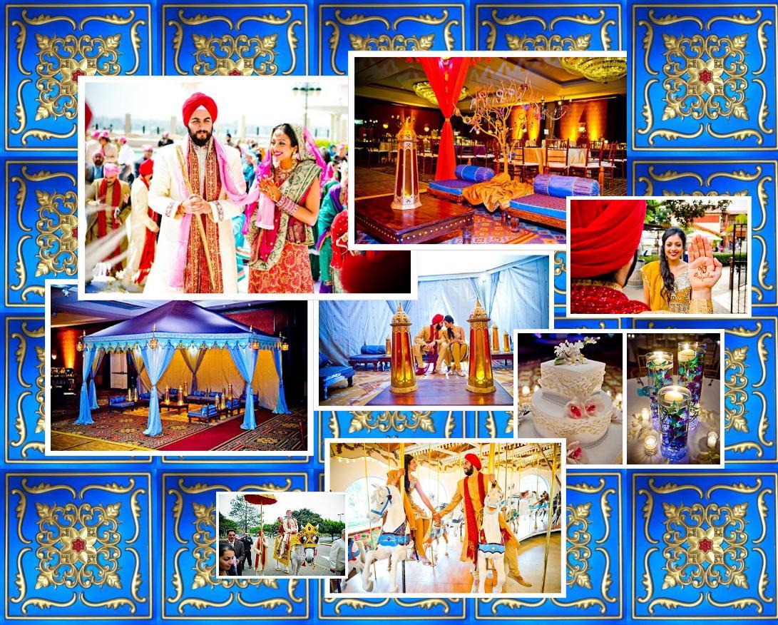Indian Wedding Photography Backdrops
