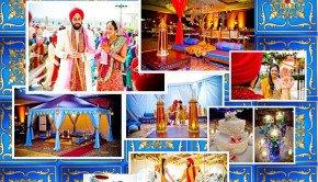 Bollywood Wedding Photography Backdrop