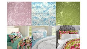 Ceiling Tile Headboards