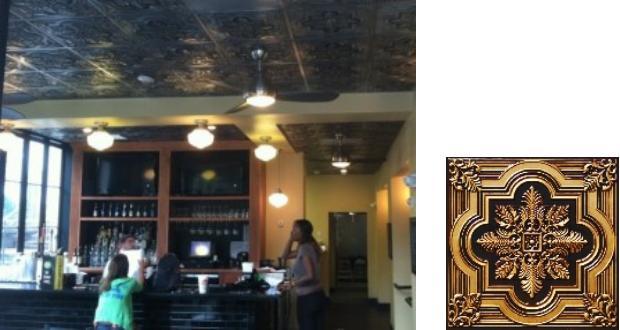 Ceiling Tile Inspiration Huye's Diner New Orleans