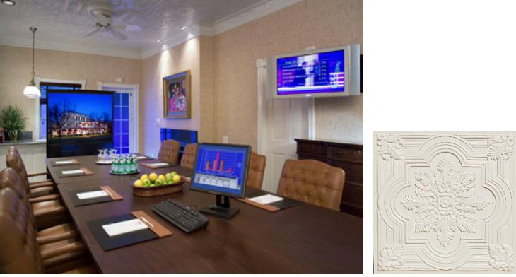 Commercial Faux Tin Tile Ceiling Inspiration - Conference Room