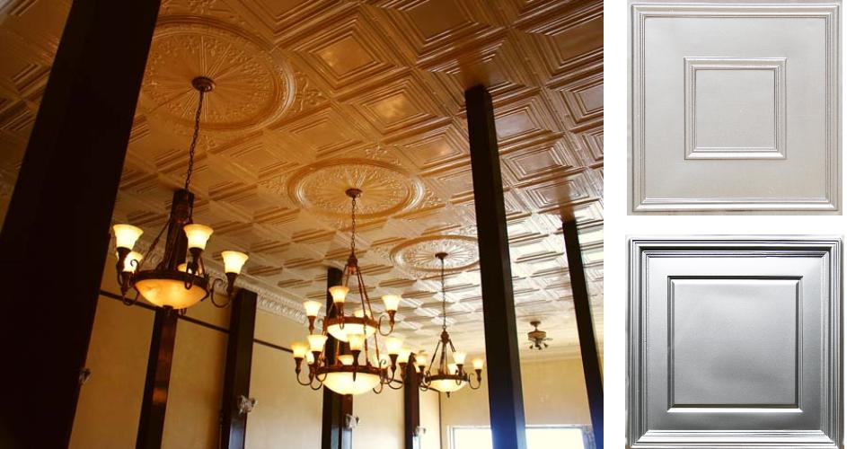 Commercial Ceiling Tile Inspiration - Union Square