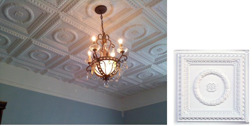 Commercial Faux Tin Tile Ceiling Inspiration - Hotel