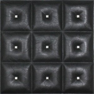 Diamonds in The Sky - Faux Leather Ceiling Tile