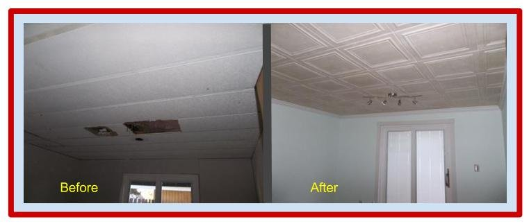 Improve Your Ceilings In Time for the Holidays!