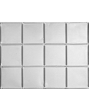 340 SOHO tin backsplash
