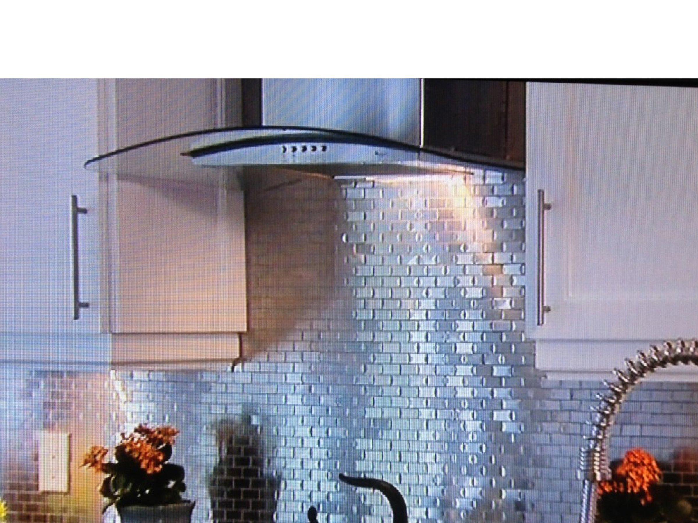 Tin Backsplash On Property Brothers Decorative Ceiling