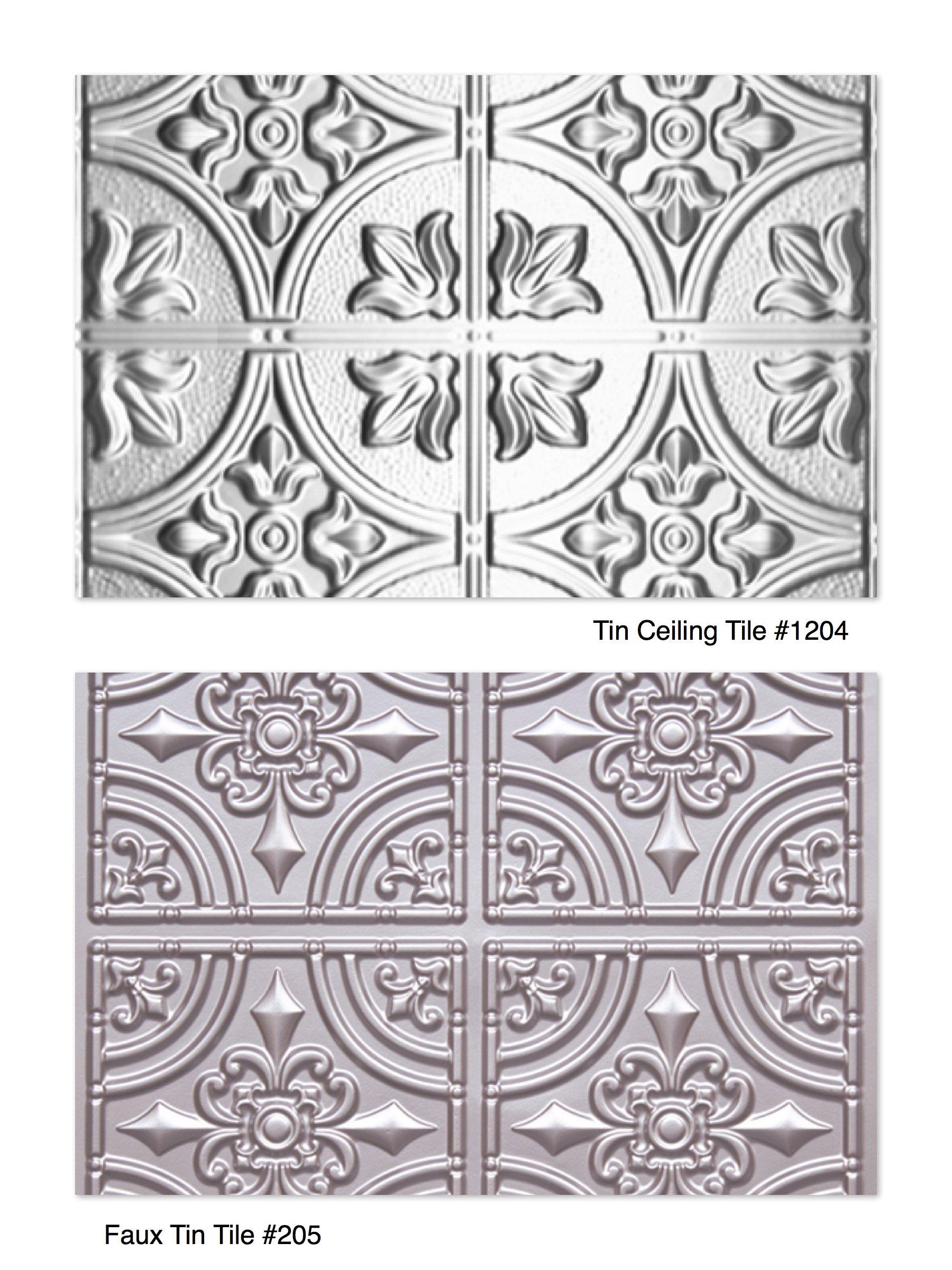 Decorative Tiles for Tin Backsplash & Kitchen Island on Property Brothers