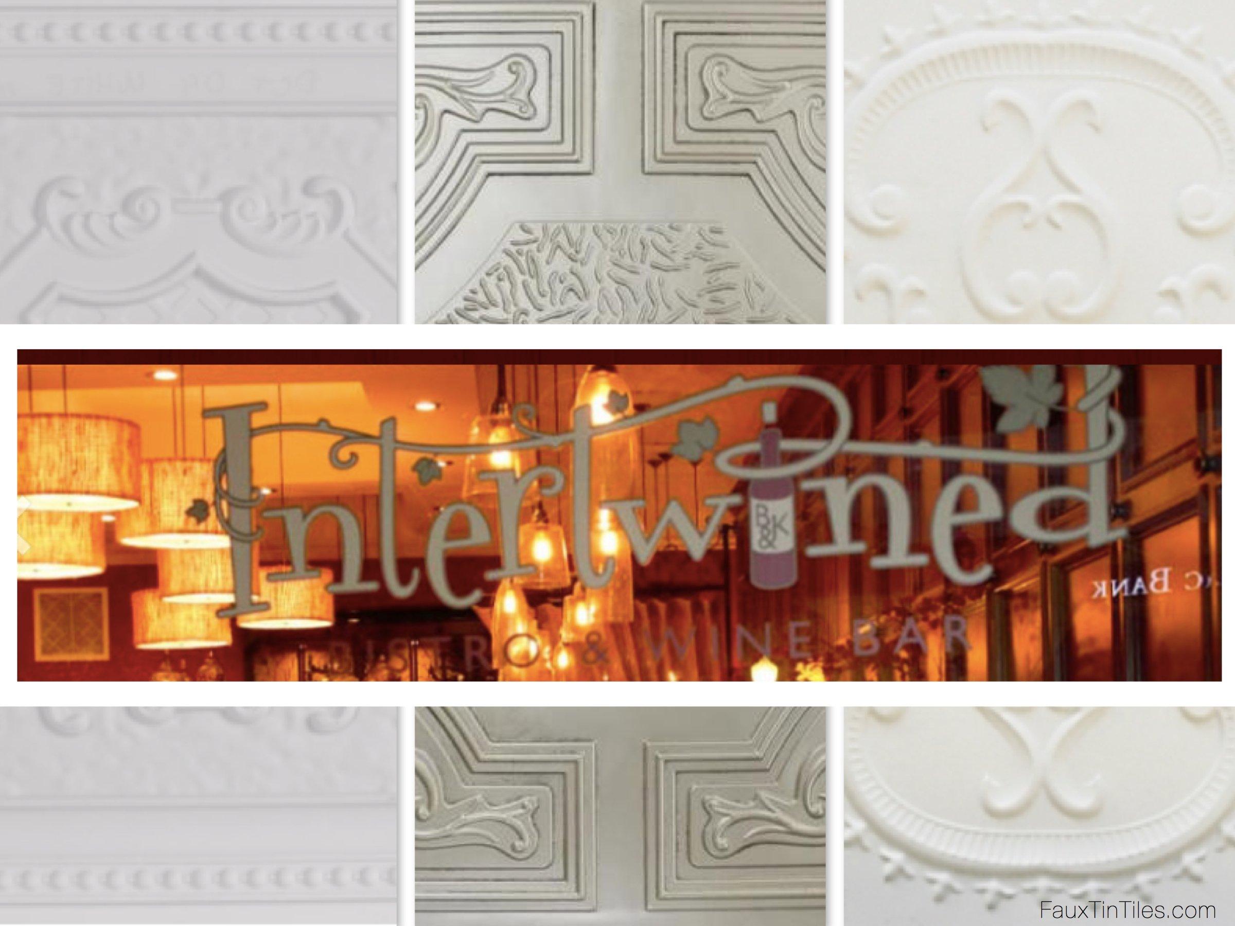Faux tin ceiling tiles 2x4