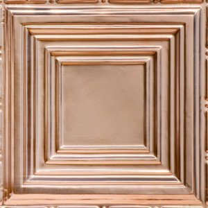 Edgerton square solid copper ceiling tile
