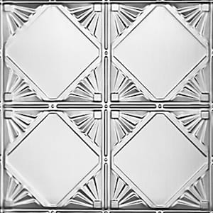 Checkered Deco - Tin Ceiling Tile - 1205