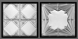 Magnetic Chalkboard Decorative Tiles