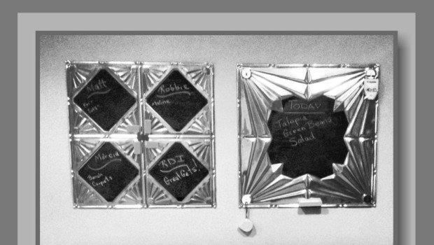 Tin Ceiling Tile Magnetic Chalkboards