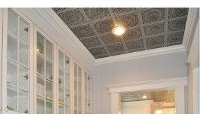 Decorative Ceiling Tiles in Butlers Pantry