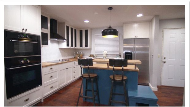Tin Kitchen Backsplash On HGTVu0027s Renovation Raiders