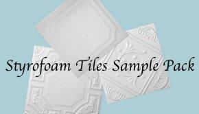 Styrofoam Tiles Sample Pack