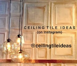 Ceiling Tile Ideas on Instagram