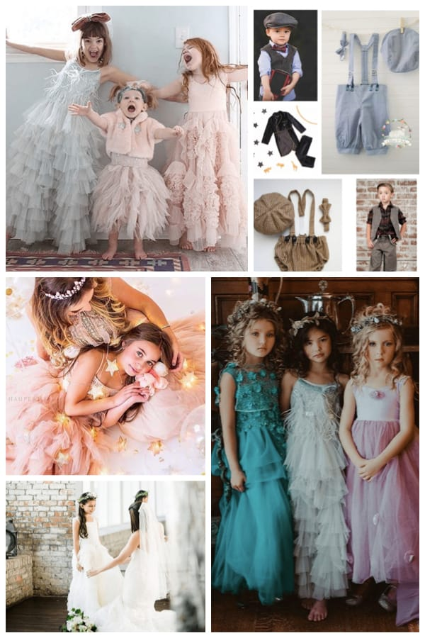 Rent children's special occasion outfits for a family photo shoot