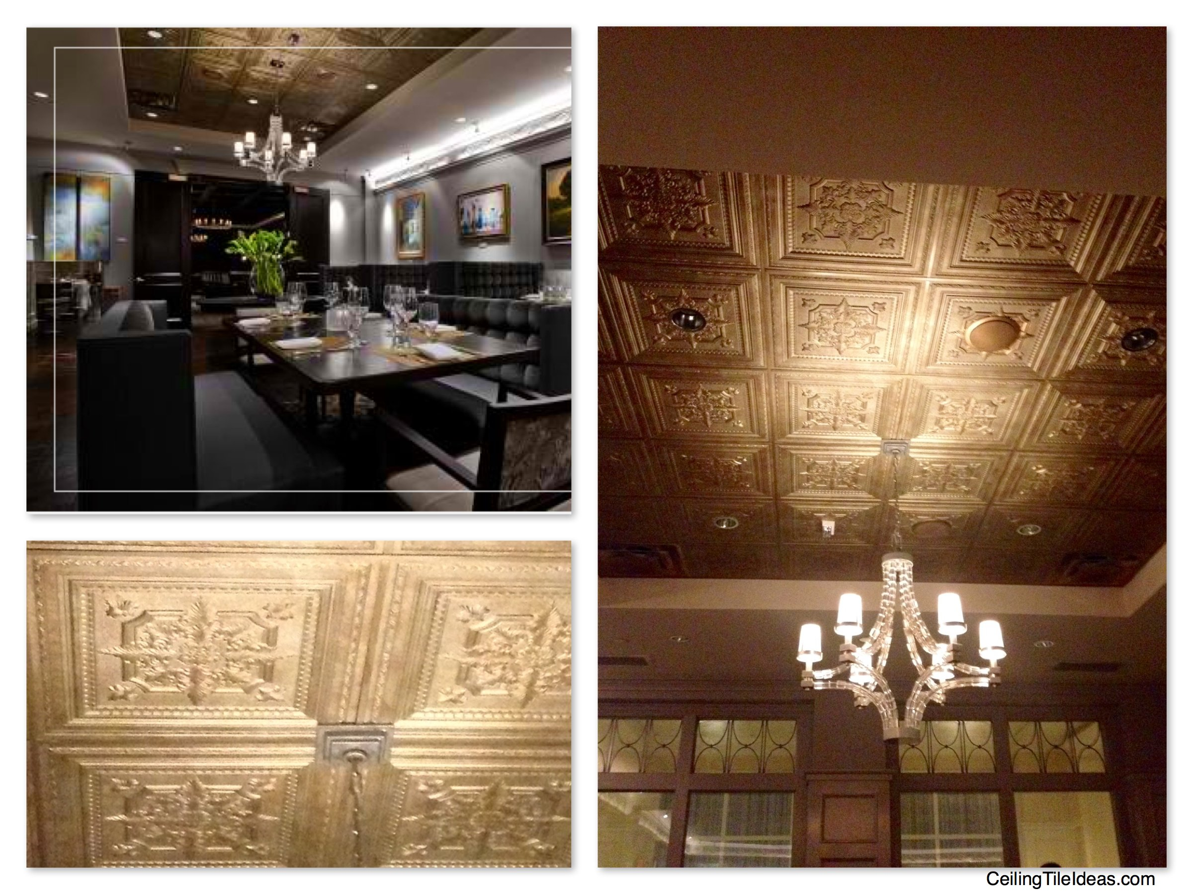 Decorative Ceiling Tiles At The Ballantyne Hotel In Charlotte North