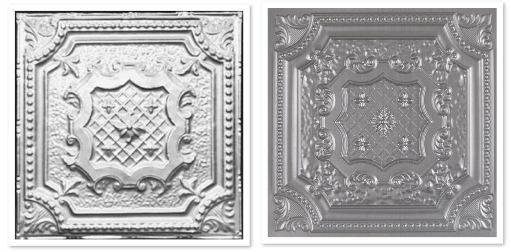 Elizabethan Shield Decorative Ceiling Tiles