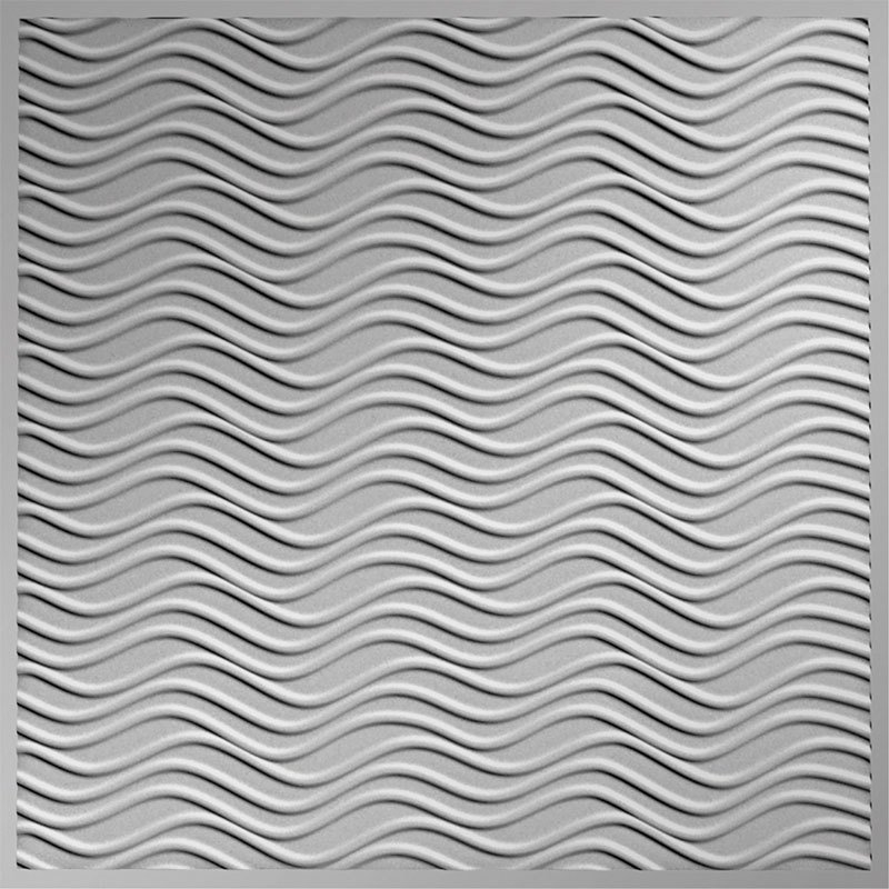 wavation mirror silver faux tin ceiling tiles