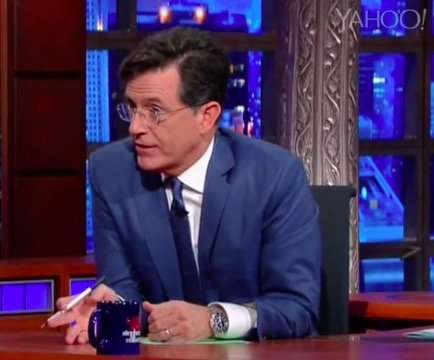 Decorative Tiles on the Set of The Late Show with Stephen Colbert, Decorative Tiles on The Late Show