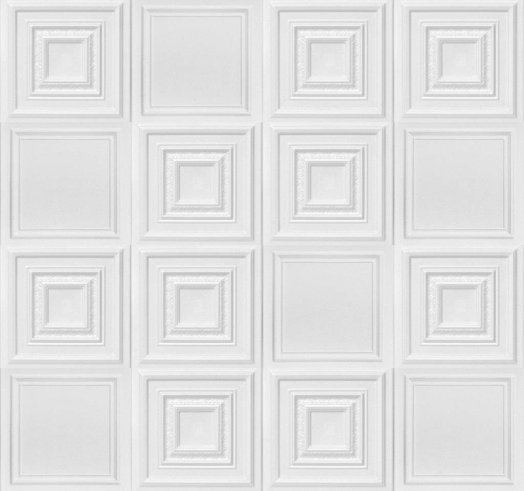 Styrofoam Ceiling Tile Wall