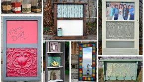 Upcycled Antique Ceiling Tile Home Decor Ideas
